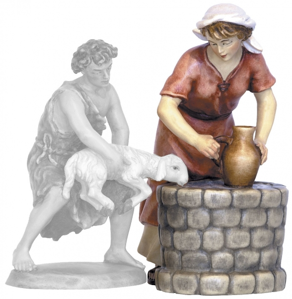 Female Water Bearer with Well