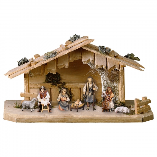 Shepherds Nativity Set - 9 Pieces