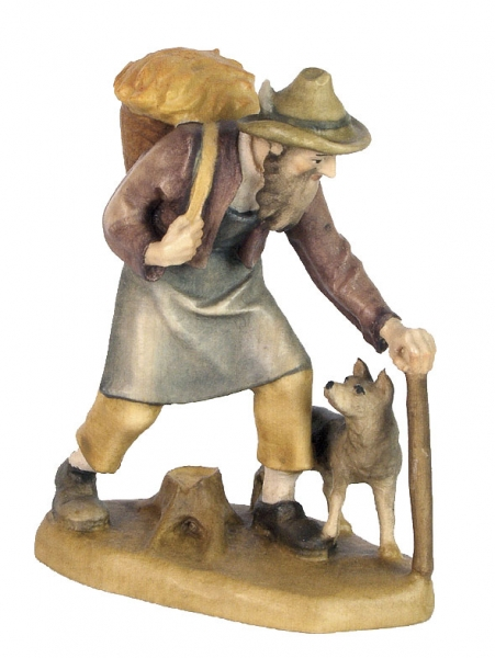 Shepherd with Dog