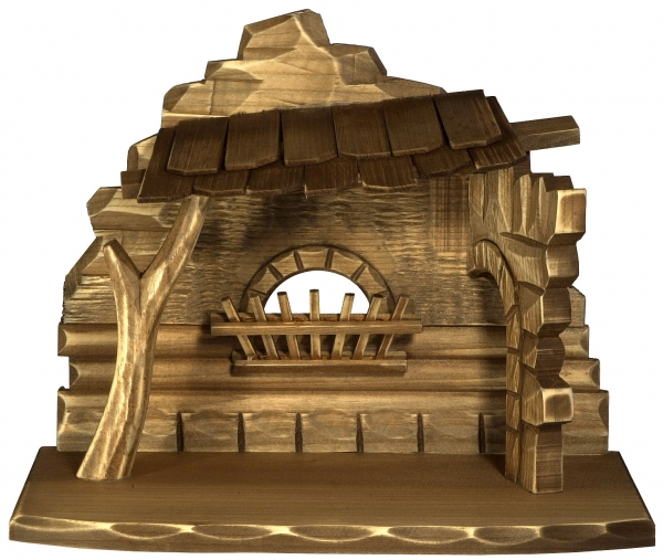 Nativity Stable by Bernardi - plain hut