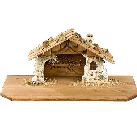 Nativity Stable by Lepi - Pure with large display