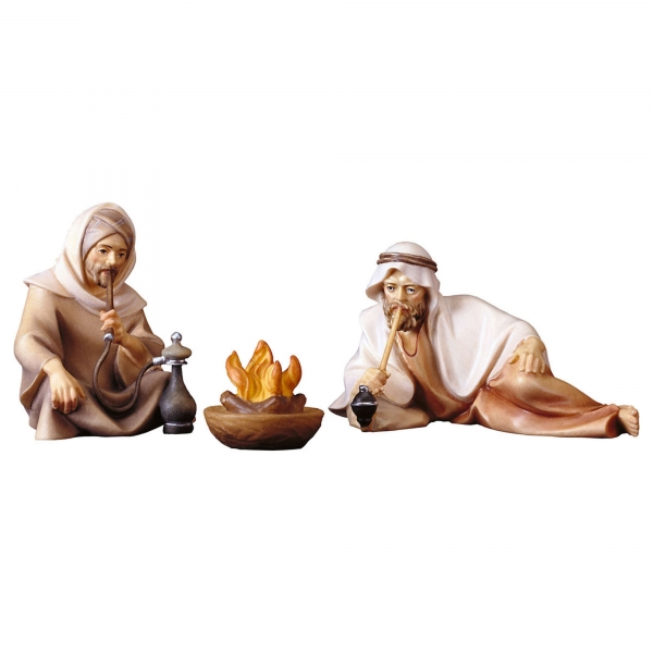 Group of herders at the fireplace - 3 pcs.