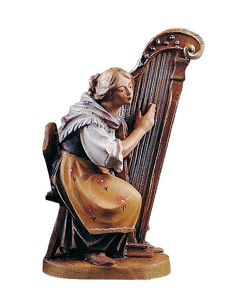 Woman with harp