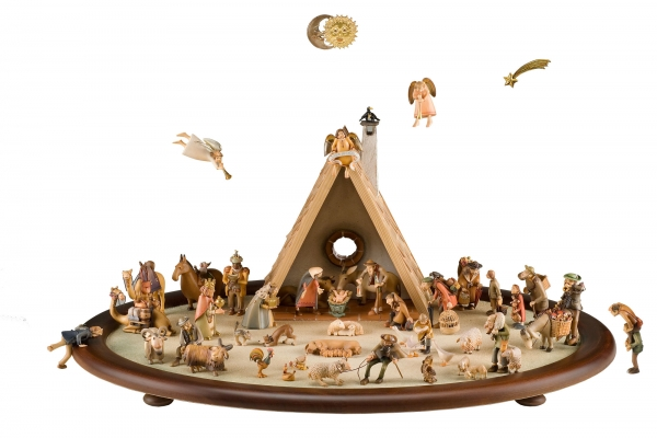Nativity Set - 50 pcs.