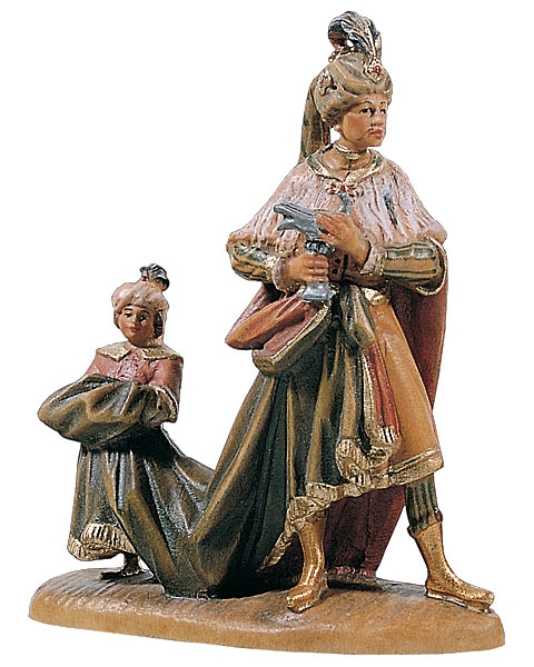 Wise Man (Balthasar) with child
