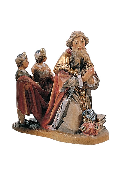 Wise Man (Melchior) with children