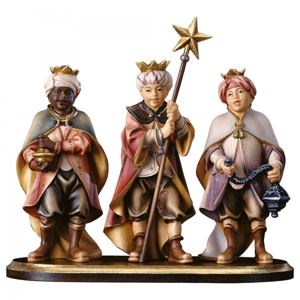 Three Carol Singers on pedestal - 4 Pieces