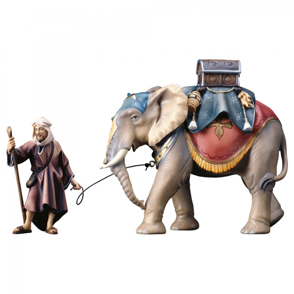 Elephant group with luggagesaddle - 3 pcs.