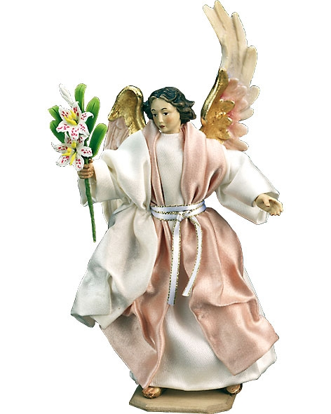 Annunciation Angel with lily