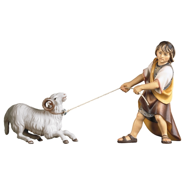 Pulling child with kneeling ram - 2 Pieces