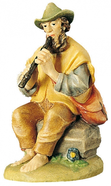 Shepherd sitting with Flute